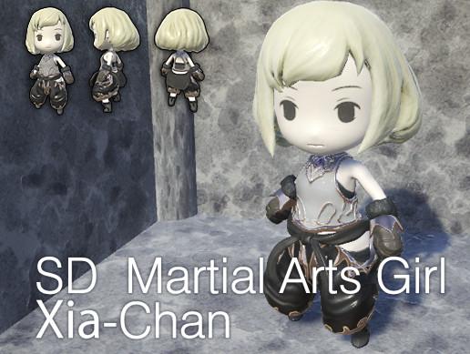 SD Martial Arts Girl Xia-Chan