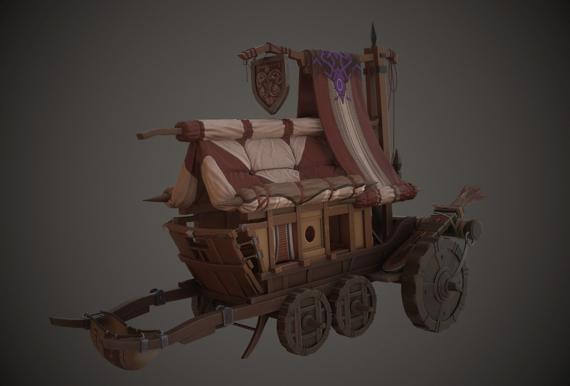 Armor Merchant's Wagon