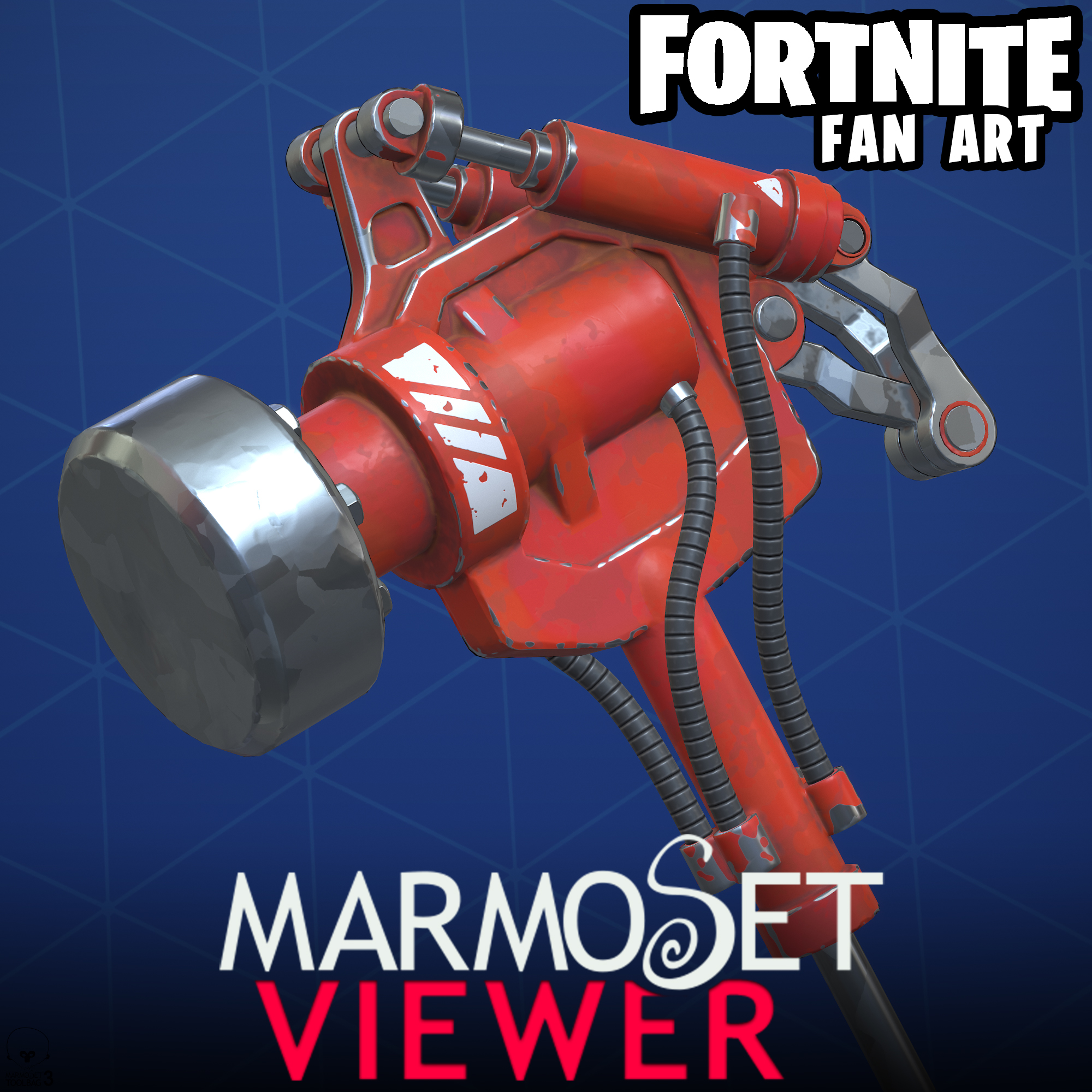 Fortnite Fan Art- Hydraulic Hammer