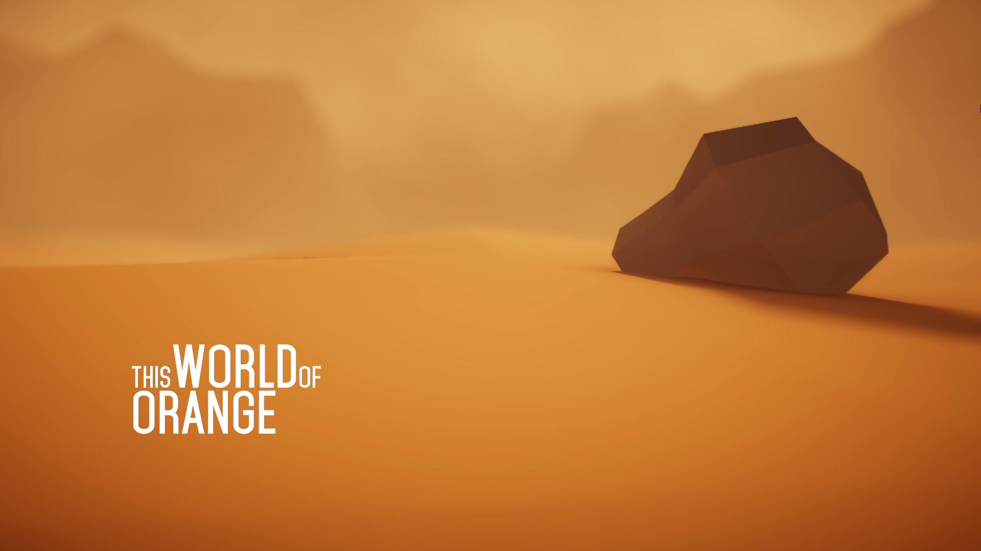 This World of Orange