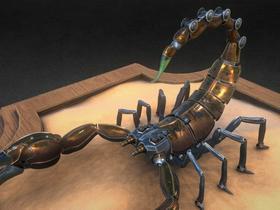 Mechanical Emperor Scorpion
