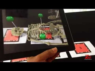 Skeletal System Augmented Reality App
