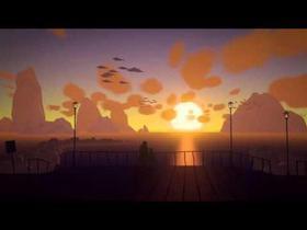 Mackerel Sky - animated landscape