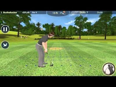 Inter-Course Golf 3D Gameplay
