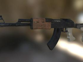 Near-Future AK Assault Rifle