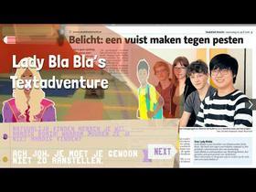 Lady BlaBla's Textadventure - anti-bullying game