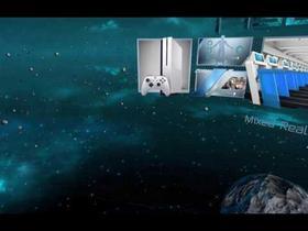 Virtual Reality Space Scene