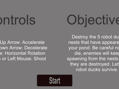 Cyborg Battle Ducks