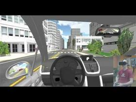 Training simulation for identifying car drivers errors