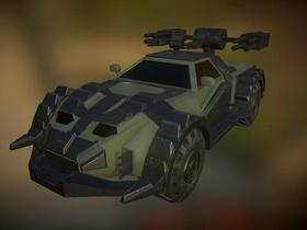 Low poly Combat Vehicle