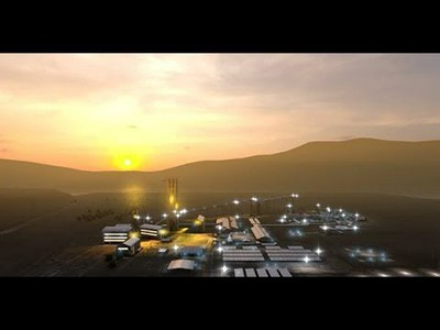 South Deep Gold Mine Visualization