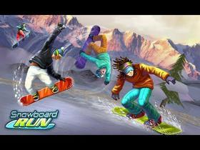 Snowboard: run