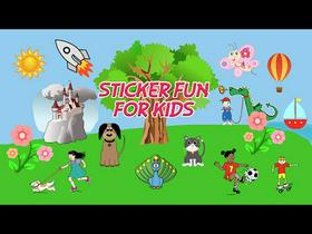 Sticker Fun for Kids