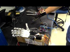 Prototype of a Robotic Hand with Arduino