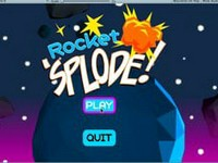 Rocket 'Splode game