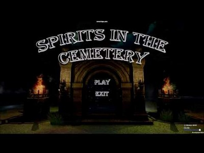 Spirits in the Cemetery