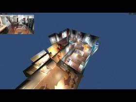 Converting Surveillance Video To Interactive 3D Models
