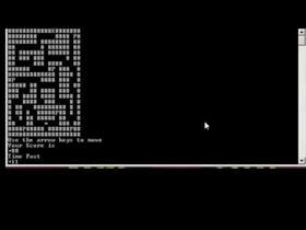 ASM X86 Maze Game