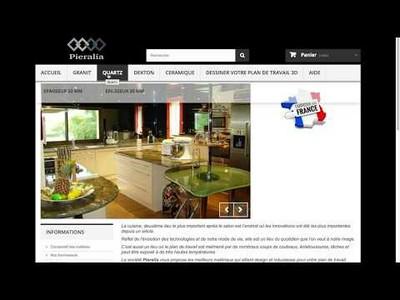 Pieralia.fr WebGL kitchen configurator