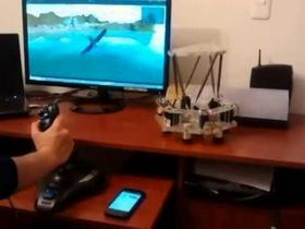 Flight Simulator Implementing Parallel Platforms