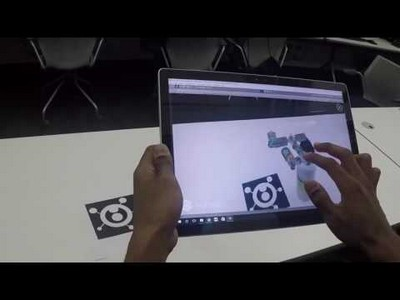 International Space Station Augmented Reality