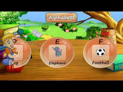 Augmented Reality kids Education Book