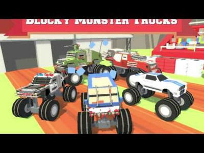 Blocky Monster Trucks
