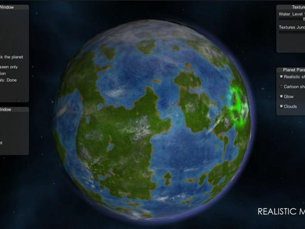 Planet Cloud Texture
