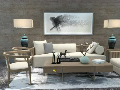 Chinese style furniture(VR)01