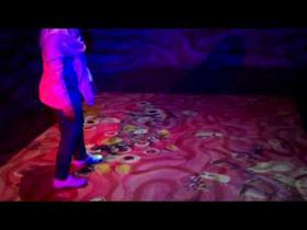 Stomach Stomp - Interactive Projection Mapping