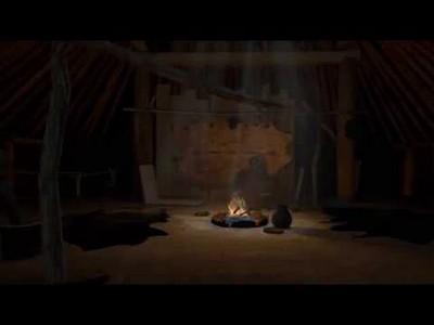 Mandan Earth Lodge in Virtual Reality