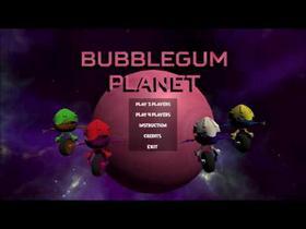 Bubblegum planet