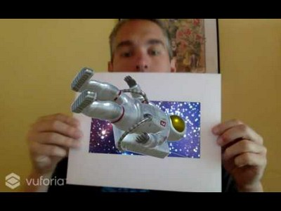 Astronaut AR Experience