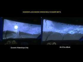 Realtime waterdrops shader