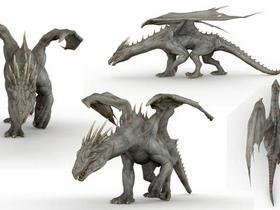 Dragon Walk Cycle