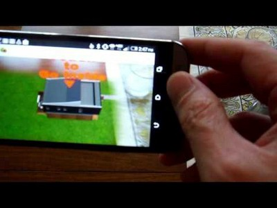 Augmented Reality Architecture Walk-through