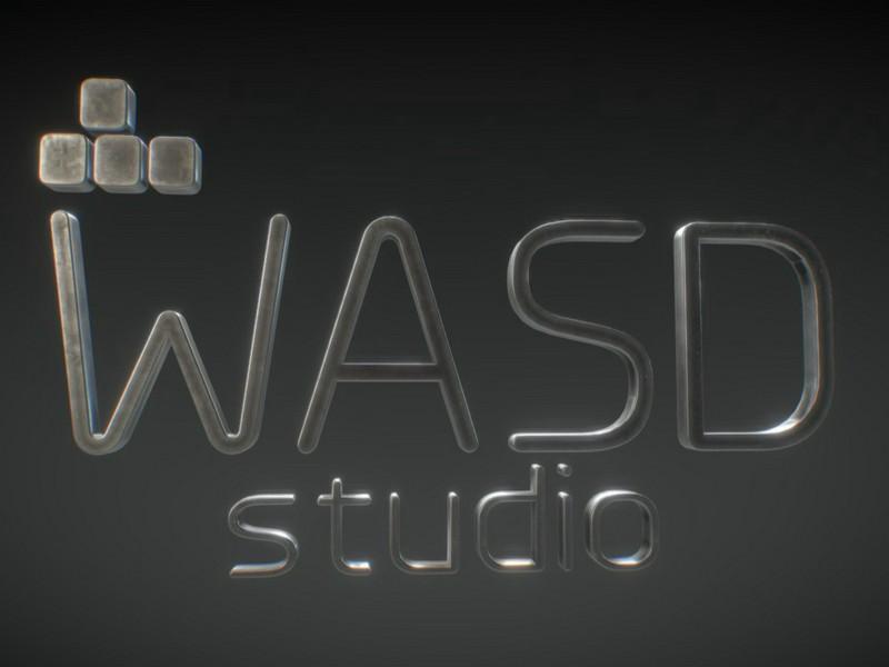 Wasd Studio 3D Logo