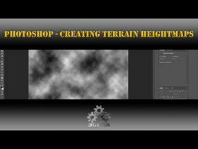 Photoshop [Game Art] Creating Terrain Raw Heightmaps