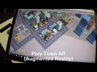 Poly Town Augmented Reality