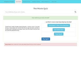 The Movie Quiz Game
